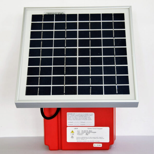 red trout lis15 solar energiser